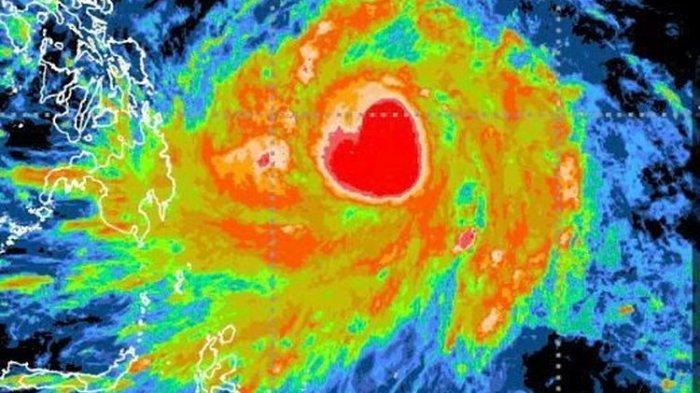 Mengerikannya Badai Tropis Surigae, Bisa Menjadi Angin Topan, Apa Dampaknya Bagi Indonesia?