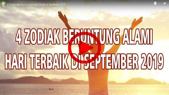 SIMAK 4 Zodiak Ini Diprediksi Nikmati Hari Baik Sepanjang September 2019, Kamu Termasuk?