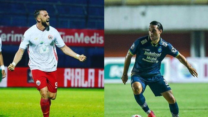 Prediksi Line Up dan Live Streaming Persija vs Persib Bandung, Leg Pertama Kamis 22 April di Sleman
