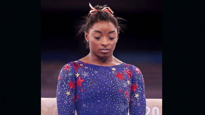 Simone Biles mundur dari final beregu putri dengan alasan tidak ingin merusak kesehatan mentalnya
