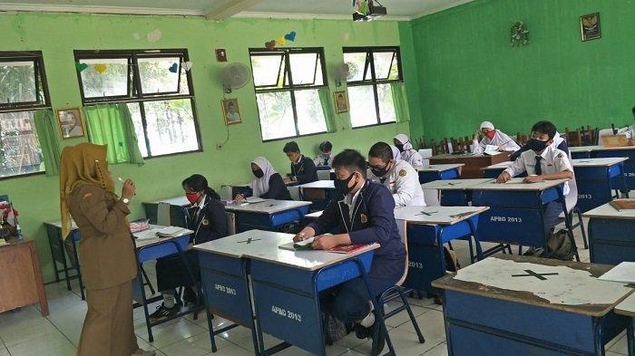 Belajar Tatap Muka Mulai Tahun 2021, Disdik Kabupaten Bogor Siapkan Monev Sesuai Protokol Kesehatan