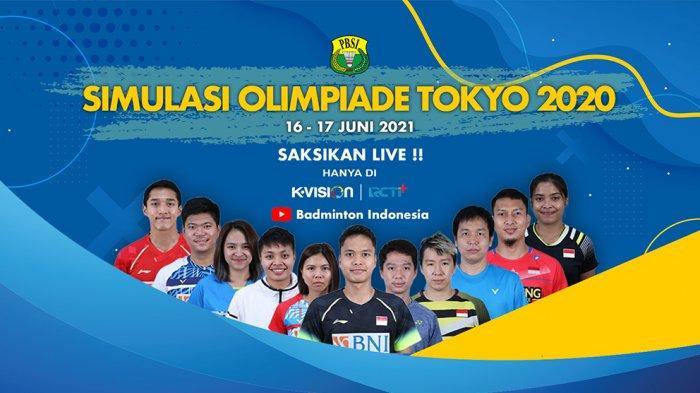 PBSI Gelar Pertandingan Simulasi Olimpiade Tokyo Sebagai Ajang Pemanasan Buat Pemain