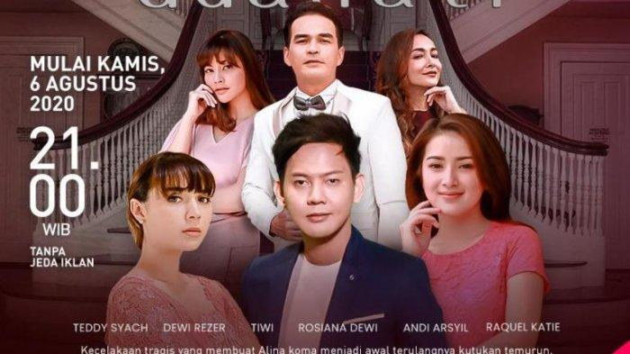 Serial 'Belenggu Dua Hati' Diputar ANTV, Andi Arsyil Kembali Berakting Setelah Lama Vakum Syuting