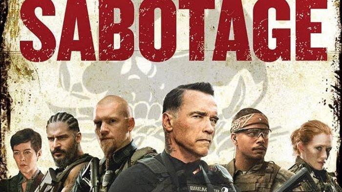 Film Sabotage Malam ini di Bioskop Trans TV Usaha Arnold Schwarzenegger Perangi Kartel Narkoba