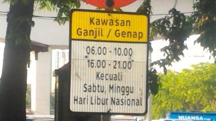 Ganjil Genap Jakarta Hari Ini Masih Belum Berlaku Selama PSBB Transisi Sampai 6 Desember 2020