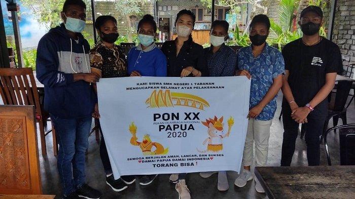 Siswa Program ADEM yang Sedang Menimba Ilmu di Bali Dukung PON XX Papua Berjalan Sukses