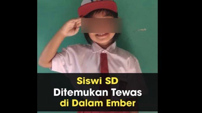 VIDEO: Siswi SD Ditemukan Tewas Dalam Ember di Bogor Setelah Tiga Hari Menghilang