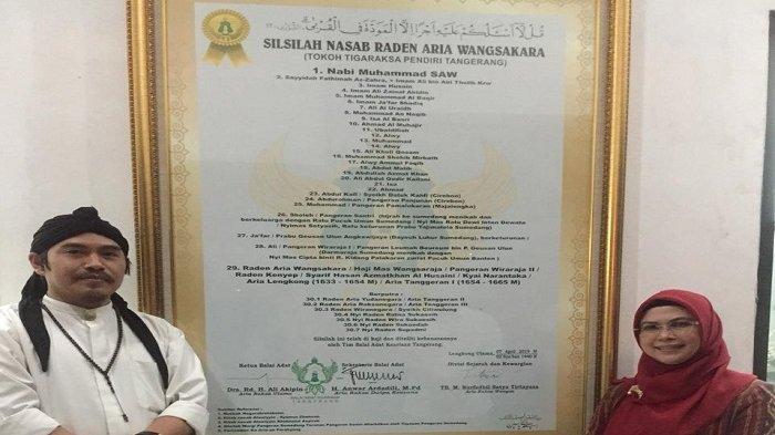 Jelang Pelantikan Presiden, Putri Ma'ruf Amin Berziarah ke Makam Leluhur