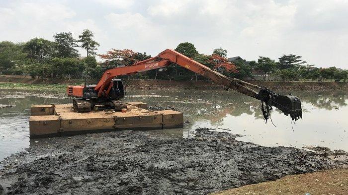 Pelaksanaan Normalisasi Sungai Ciliwung 2020 Masih Terkendala Pembebasan Lahan