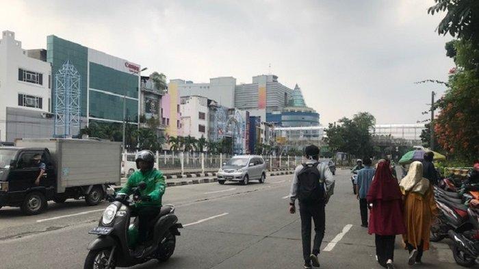 Traffic Update: Siang Ini Jalan Mangga Dua Raya Ramai Lancar