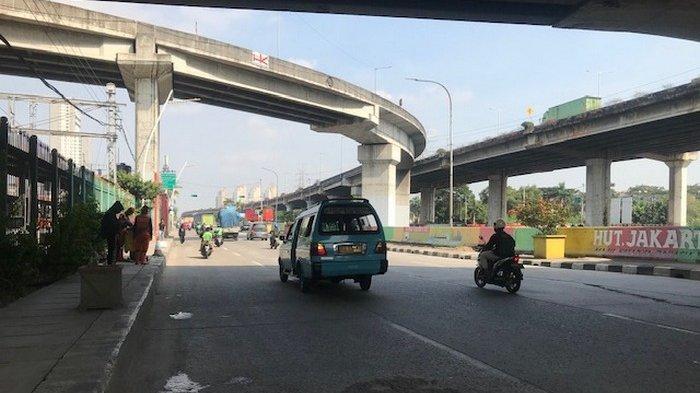 Pukul 10.18 WIB Jalan RE Martadinata Terpantau Ramai Lancar