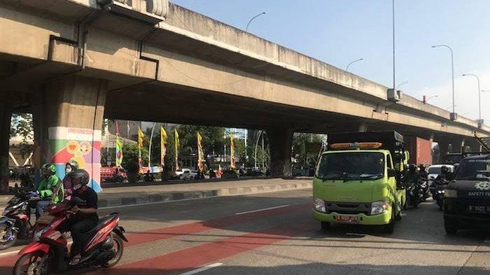 Arus Lalin Kendaraan di Jalan Yos Sudarso, Koja, Terpantau Lancar Rabu (1/7) Pagi