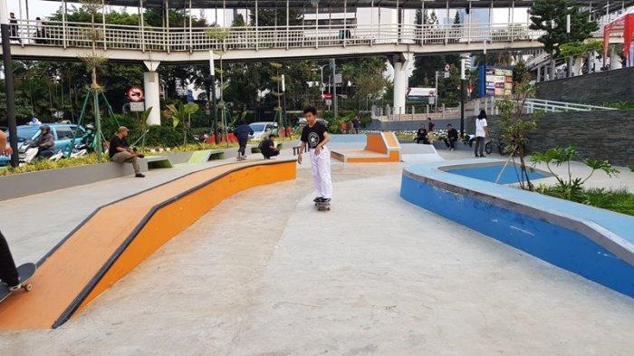 VIDEO: Skatepark Spot Budaya 2 Dukuh Atas sudah Rusak, Skateboarder Nilai Tidak Sesuai Standar