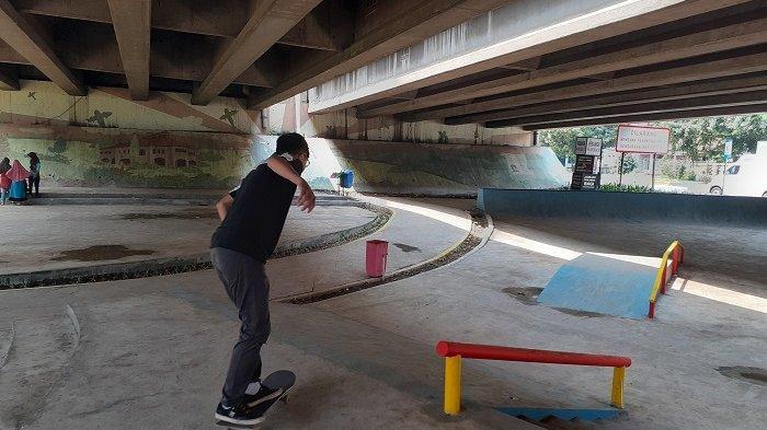 Punya Skate Park, Komunitas Skateboard Bekasi Bakal Bikin Beragam Kegiatan di Kolong Tol Jatiasih