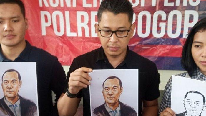 Ini Sketsa Wajah Mayat dalam Koper yang Ditemukan di Bogor, Diduga Bukan Orang Indonesia