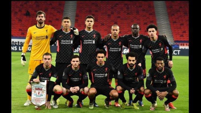 Sedang Berlangsung RB Leipzig vs Liverpool 0-2, Lima Menit  Dua Gol, Mohammed Salah dan Sadio Mane