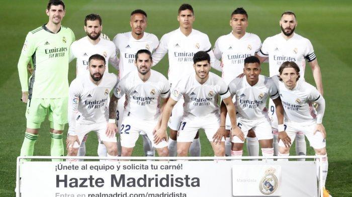 Hasil Babak Pertama Real Madrid vs Real Betis 0-0, Pertahanan Madrid Hanya Beri 1 Peluang Betis
