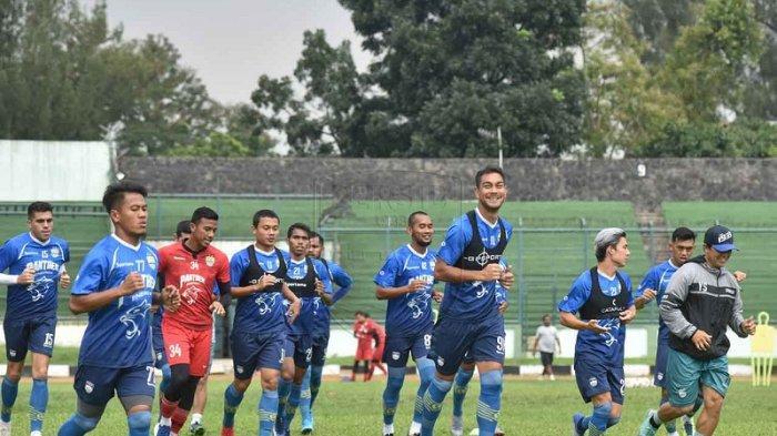 Antisipasi Penyebaran Virus Corona, Latihan Persib Bandung Diliburkan