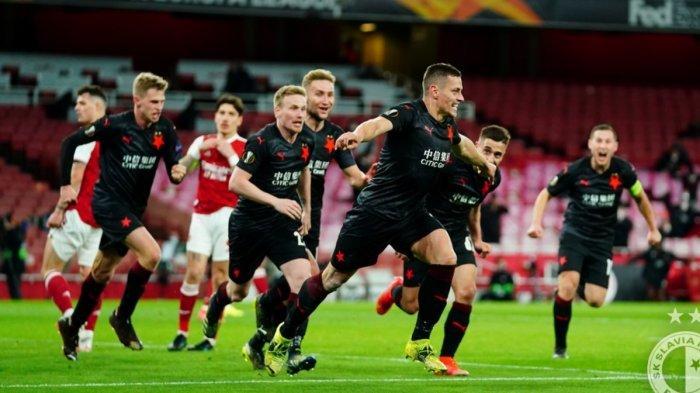 Kecolongan Gol Tandang Saat Arsenal Ditahan Slavia Praha 1-1, Slavia Seolah Menang, Ini Kata Arteta