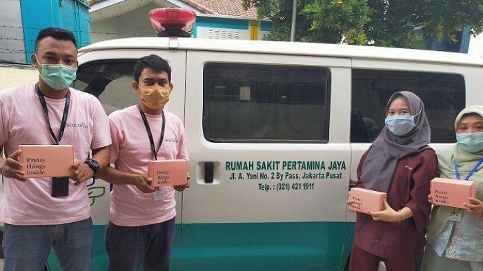 Social Bella Donasi 2.100 Paket Perawatan Diri untuk Tenaga Medis, Total Tersalurkan Rp 1,76 Miliar