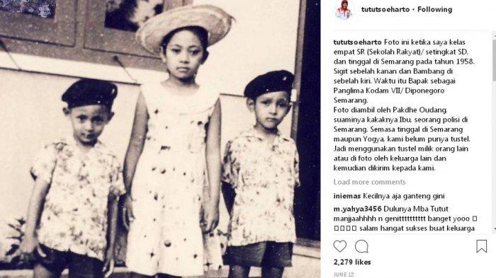 Kisah Soeharto Tak Punya Kamera Saat Tutut Kecil, Ini Dramanya