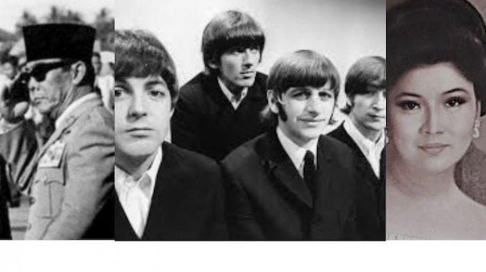 Kisah Benci Segitiga Antara Bung Karno, Imelda Marcos dan The Beatles