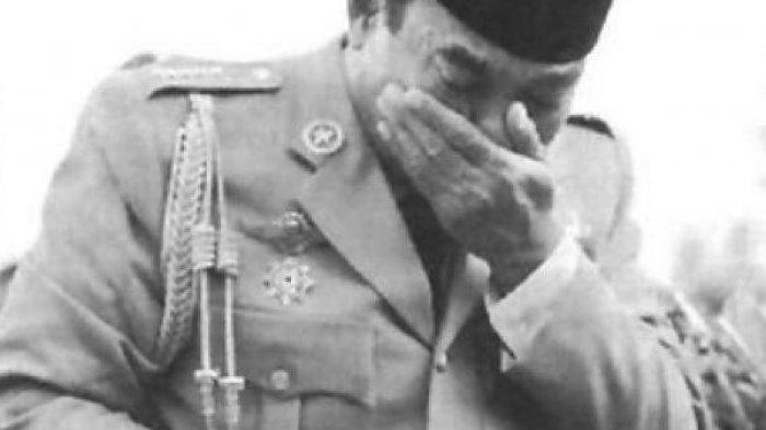 Di Pengasingan Setelah G30S PKI, Soekarno Sering Menangis 'Kenapa Aku Dibeginikan Bangsa Sendiri?'