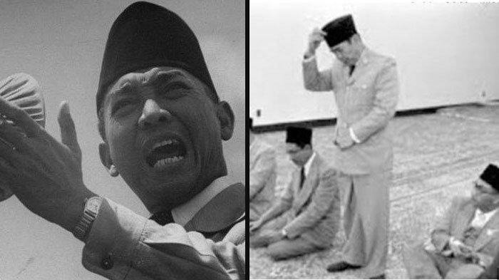 KISAH Soekarno Pernah Jadi Target Penembakan saat Salat Idul Adha, Pelakunya Ternyata Orang Terdekat
