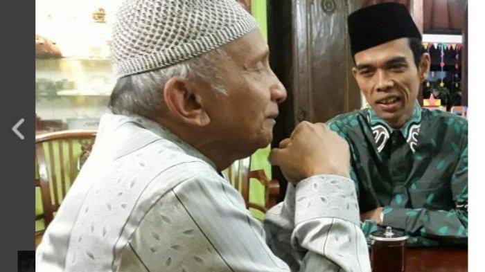 Minta Ustaz Abdul Somad Terima Rekomendasi Jadi Cawapres Prabowo, Amien Rais Ungkit Kisah Nabi Yunus