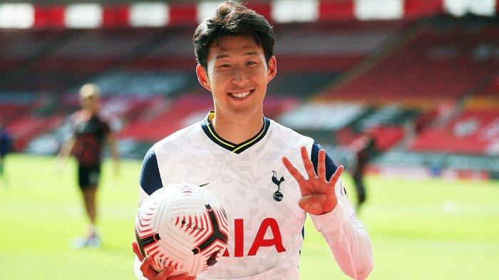 Pemain Korsel, Son Heung-min memperpanjang kontraknya di Tottenham Hotspurs
