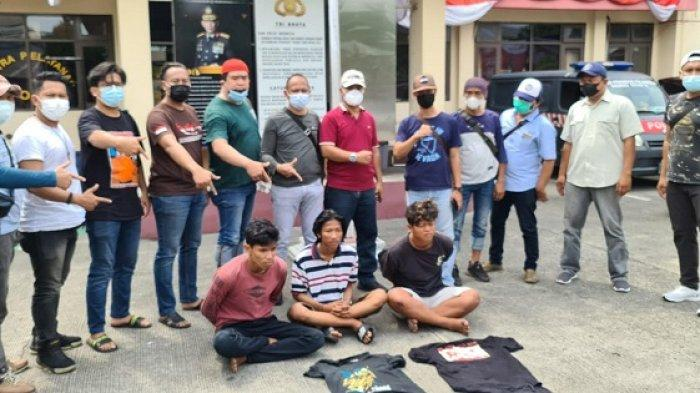 Pelaku Pemalakan Sopir Truk Trailer di Jakarta Utara Ditangkap, Uang untuk Beli Rokok