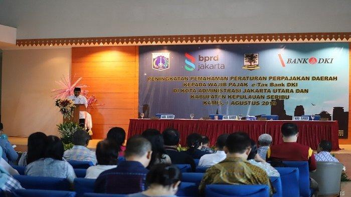 Pemkot Jakarta Utara Perkenalkan TOSKA Bank DKI, Sistem Pembayaran Pajak Secara Online