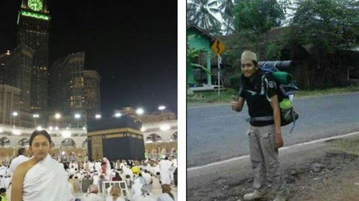 Sosok Mochammad Khamim Setiawan, Berjalan Kaki ke Kakbah dari Pekalongan, Seperti Ini Persiapannya