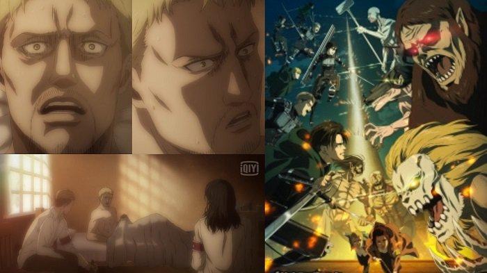 Attack On Titan Season 4 Episode 11, Reiner Braun Alami Mimpi Buruk, Ada Apa? Berikut Link Videonya