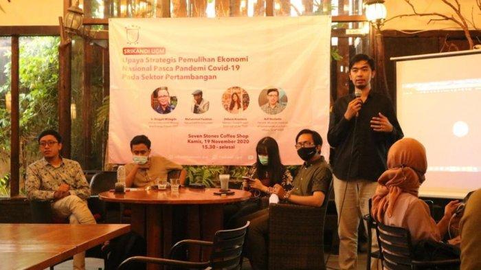 Diskusi Srikandi UGM, Bahas Pemulihan Ekonomi Nasional Pasca Pandemi Covid-19 Hingga Omnibus Law