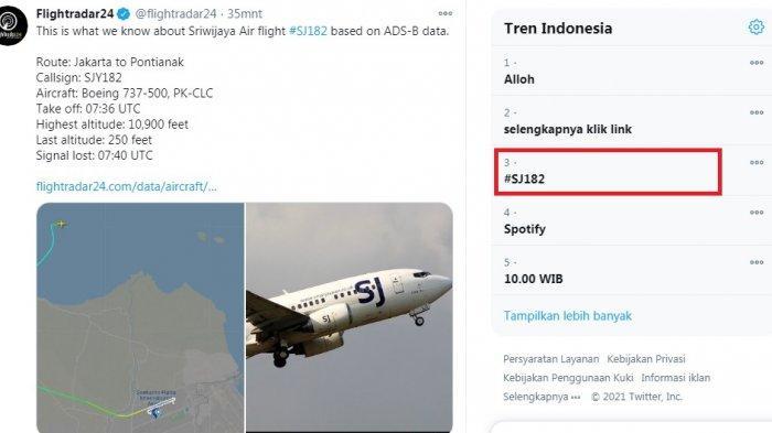 Cerita Paulus Kollo Lolos Dari Kecelakaan Sriwijaya Air SJ182, Namanya Tercatat di Manifest
