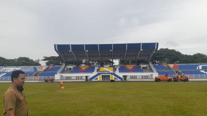 Renovasi Stadion Benteng sudah beres.