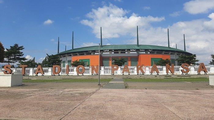 Stadion Pakansari Cibinong siap menggelar Liga1 2021.