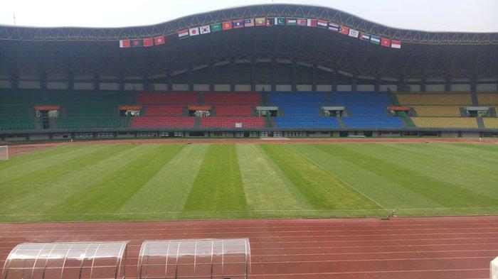 Asian Games 2018 Menghitung Hari, Rumput Hijau Sudah Terhampar di Stadion Patriot Candrabhaga