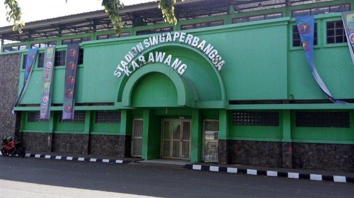 Pasca Asian Games 2018 Stadion Singaperbangsa Kabupaten Karawang Kini Tidak Begitu Aktif Digunakan