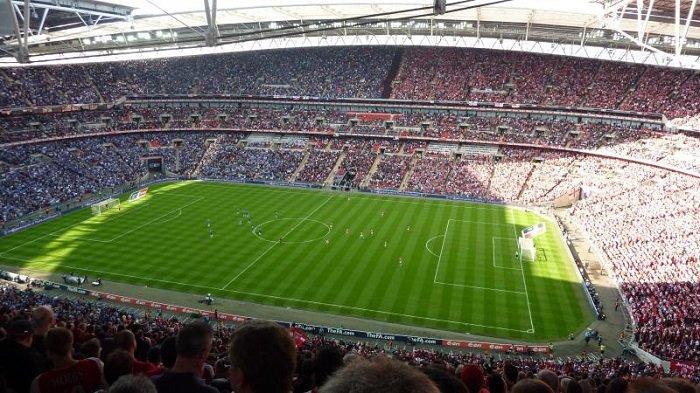 Piala Eropa 2020, Kapasitas Penonton di Stadion Wembley Ditingkatkan untuk Partai Semifinal & Final