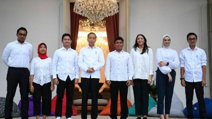 Daftar Lengkap 13 Staf Khusus Presiden Jokowi, 7 Staf Khusus Kalangan Milenial Tak Kerja Full Time