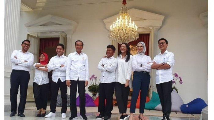 Ini Dia Tujuh Staf Khusus Presiden Jokowi, Semuanya dari Kalangan Milenial