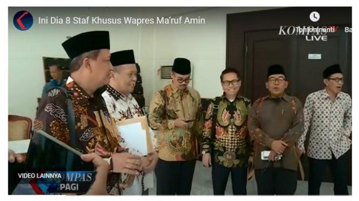 Jokowi Ubah Perpres, Wapres Ma'ruf Amin Kini Boleh Menunjuk 10 Stafsus, Kurang Dua Stafsus Lagi