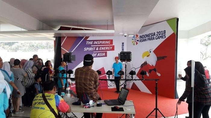 Pojok Foto Digemari Pengunjung Asian Para Games 2018