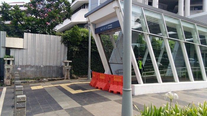 Mulai Hari Ini, Lajur Lambat di Samping Kementerian ESDM Ditutup Akibat Proyek MRT Jakarta