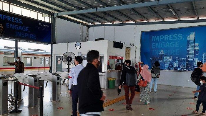 Stasiun Tangerang Hanya Melayani Penumpang  Dilengkapi Surat Tugas, Berlaku Mulai Besok
