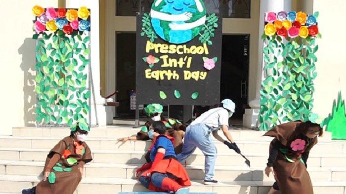 Uniknya Kegiatan International Earth Day 2021 di Preschool Stella Maris Gading Serpong