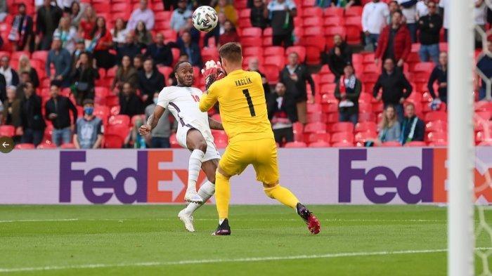 Babak Pertama Republik Ceska vs Inggris 1-0 Gol Sterling, Kroasia vs Skotlandia 1-1