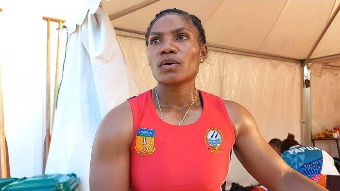 Stevani Mayshe Ibo Meraih Tiga Emas dan Satu Perunggu Untuk Tim Dayung Papua